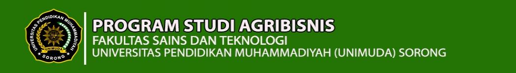 Agribisnis UNIMUDA Sorong